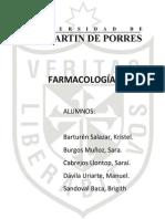 Farmacocinética, Informe seminario.
