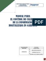 2013 03 07 Manual Control de Calidad Digitalización v0.1