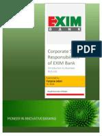 CSR of Exim Bank of Banhladesh