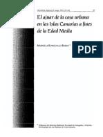 Ajuar Canarias Finales Edad Media