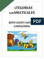 Categorias Gramaticales Cartilla Completa (Autoguardado) (Autoguardado)
