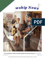 August 26, 2014 The Fellowship News