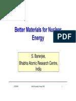 Nuclear Mterals