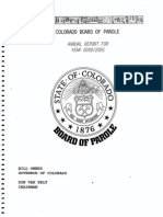 2000-01 Parole Board Annual Report