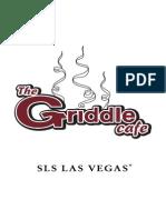 The Griddle Cafe Menu