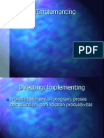 14. Directing Implementing