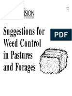 Suggestions for Weed Control in Pastures and Forages -B-5038