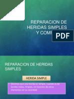 Reparacion de Heridas Simples y Complejas