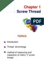 Chapter 1 Screw Thread