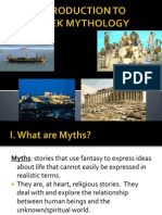 mythology - intro powerpoint