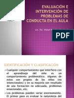 Evaluación e Intervención de Problemas de Conducta