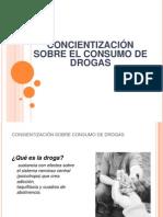 Conciencización de Drogas