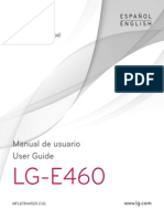 Manual LG E460