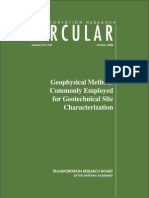E-C130 Geophysical Methods