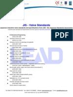 JIS - Valve Standards