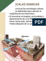 escalas sismicas