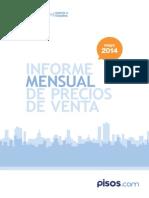 Pisos.com Informe Mayo 2014