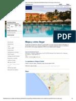 Contacto, Mapa y Cómo Llegar Al Hotel Barceló Montelimar Beach en Nicaragua _ Barcelo