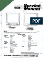 Mitsubishi Cs-32307 Cs-35307 Cs-40307 Chassis Zm
