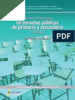 Inversion Infraestructura Escuelas Pub