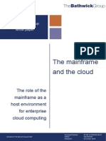 The Mainframe and the Cloud