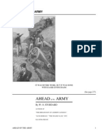 Ahead of the Army by Stoddard, W. O.