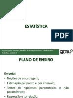 1ª Aula - Bioestatistica - m.a.