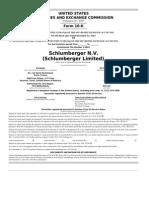 Schlumberger Form10k 2013 En