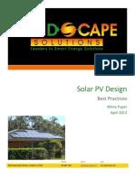 Solar Pv Design Whitepaper