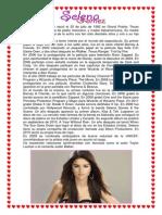 Biografia de Selena Gomez