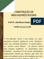 Construcao de Indicadores Sociais