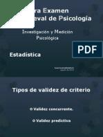 Investigación y Medición Psicológica 2