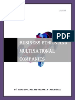Business Ethics and Mnc