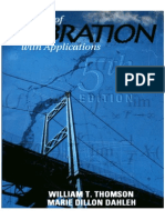 Theory of Vibrations with Applications 5th Edition