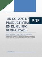 Un Golazo de La Productividad en El Mundo Globalizado