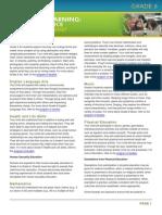 grade 6 curriculum overview