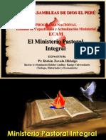 El Ministerio Pastoral Integral Para ECAM