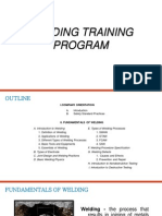 Welders Training Program Manual