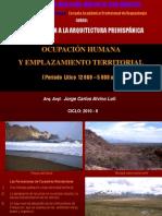 Arkeoarkitektura i - Periodo Litico en Los Andes