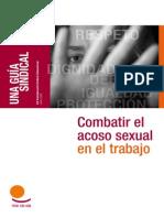 Combatir El Acoso Sexual en El Trabajo GS