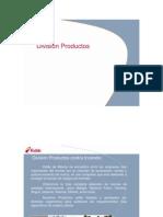 División Productos 2012