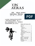 Aaton Ltr s16_usermanual
