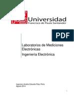 Laboratorios Mediciones Electronicas 2014