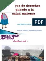 Derechos Humanos y Salud Materna Cajamarca