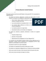 Acta Comite Paritario 1