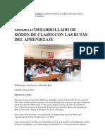 LA EDUCACIÓN en EL PERÚ La Educación Básica en El Perú Enfocada Desde La Perspectiva de Los Propios Maestro2