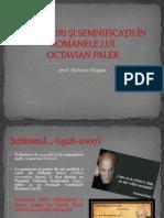 Simboluri Și Semnificații În Romanele Lui Octavian Paler