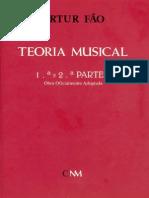 Teoria Musical - 1ª e 2ª partes - Artur Fão.pdf