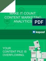 Marketing Analytics Presentation