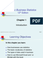 Chapter01-business statistics and probability for freshman students